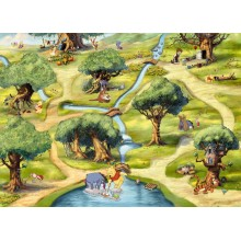 Disney poszter Micimackó 4-453