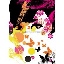 439 Floral Girl